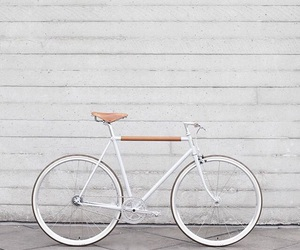 bike, bicycle, and white image