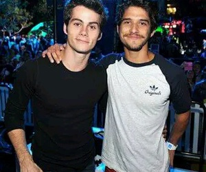 teen wolf, dylan o'brien, and tayler posey image