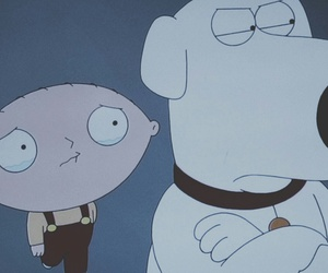 griffin, sad, and stewie image