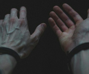 hands, grunge, and veins image