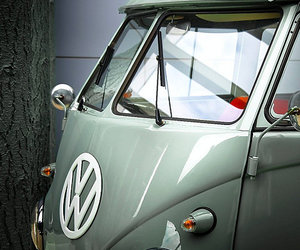 bus, vw, and car image