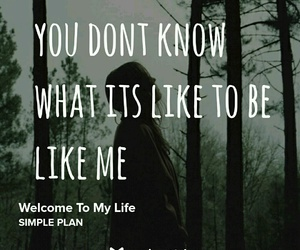 alone, quotes, and welcome to my life image