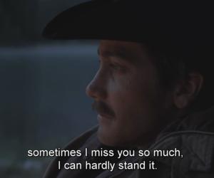 brokeback mountain, quotes, and sad image