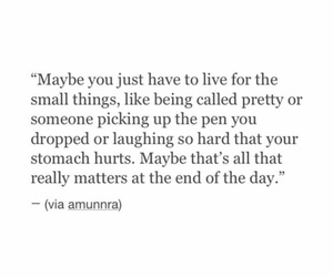 quote, girls, and small things image