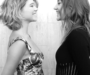 Lea Seydoux, adele exarchopoulos, and smile image