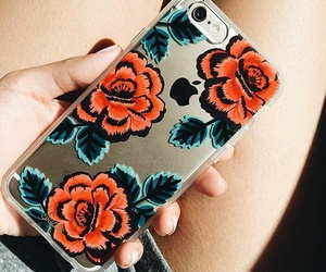 cases, flowers, and phonecase image