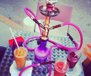hookah and pink image