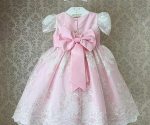 dress, cute, and bow image