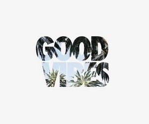 good vibes, vibes, and summer image
