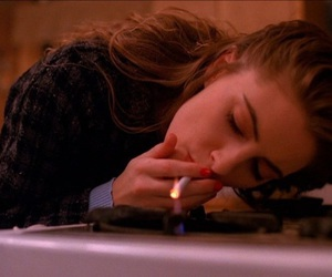 cigarette, smoke, and Twin Peaks image