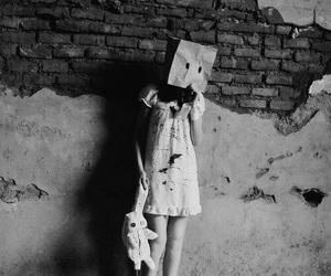 alone, sad, and ugly image