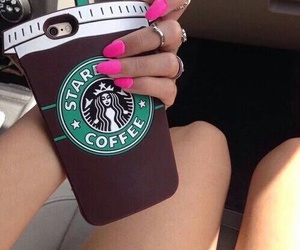 starbucks, case, and iphone image