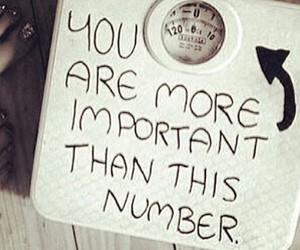 weight, important, and quote image