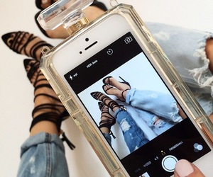 fashion, iphone, and shoes image