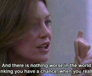 grey's anatomy, quotes, and chance image