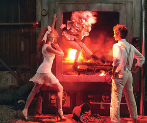 Lady gaga, Lily Cole, and andrew garfield image