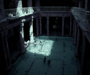 pool, water, and aesthetic image