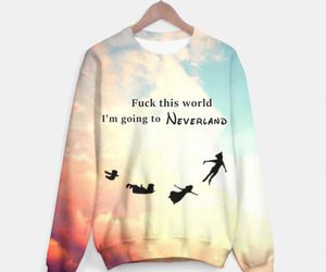 fashion, neverland, and peter pan image