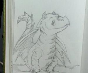 art, dragon, and cute image