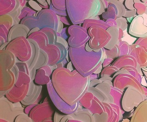 hearts, pink, and heart image