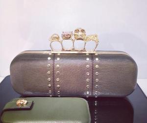 Alexander McQueen, bag, and clutch image