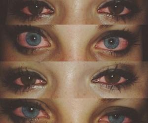 eyes, weed, and sad image