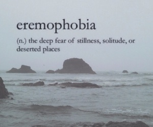 background, definition, and eremophobia image