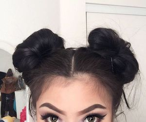 eyebrows and hair image