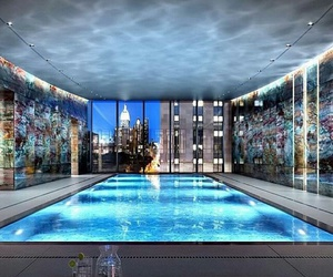 pool, luxury, and penthouse image