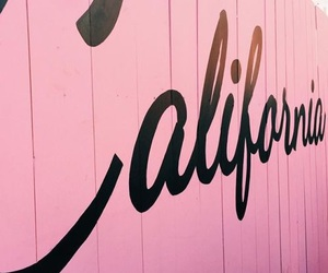 california, pink, and tumblr image