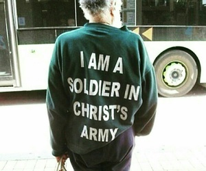army, Christ, and jesus image