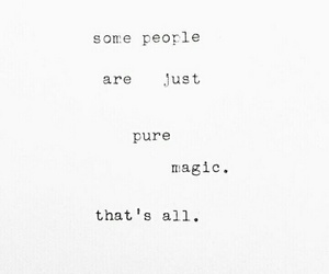 black&white, quotes, and magic image