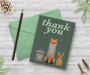 etsy, raccoon, and red fox image
