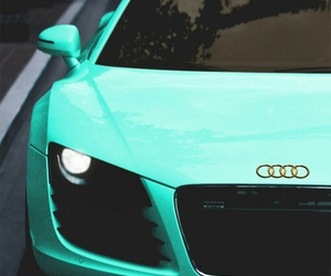 car, audi, and blue image