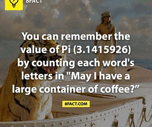 fact, funny, and pi image