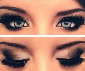 beautiful, eyeshadow, and makeup image