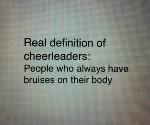 bruise, cheer, and stunt image