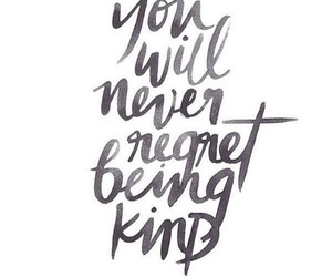 quotes, kind, and words image