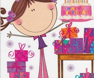 cake, illustration, and pastel image