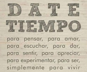 frases, pensar, and tiempo image
