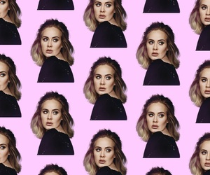 Adele, pattern, and wallpaper image