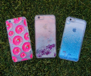 blue, cases, and donuts image