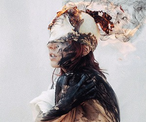 art, fire, and anxiety image