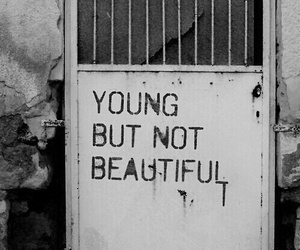young, beautiful, and grunge image