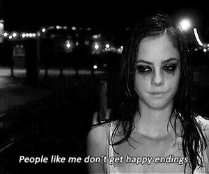 sad, skins, and Effy image