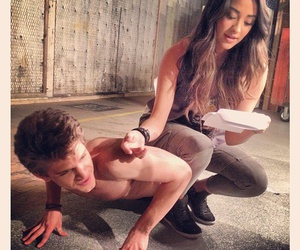 toby, pll, and shay mitchell image