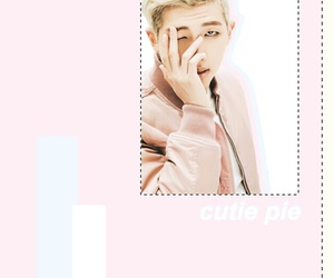 kawaii, kpop, and rap monster image