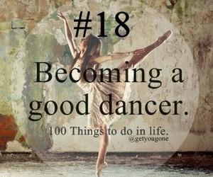 dancer and good image
