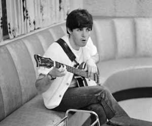 60s, the beatles, and Paul McCartney image