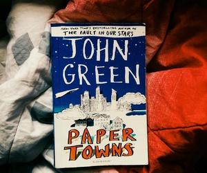 book, john green, and Paper image